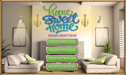 Free Hidden Objects Game - Home Sweet Home screenshot 1/4