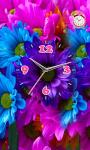 Flower Flashlight Clock  Live Wallpaper screenshot 1/3