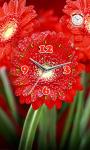 Flower Flashlight Clock  Live Wallpaper screenshot 3/3