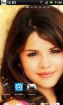 Selena Gomez Live Wallpaper 1 screenshot 1/3
