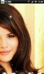 Selena Gomez Live Wallpaper 1 screenshot 2/3