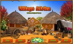 Free Hidden Object Games - Village Africa screenshot 1/4