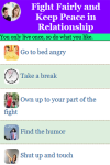 Fight Fairly and Keep Peace in Relationship screenshot 2/3