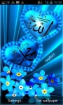 Islamic Blue Hearts LWP screenshot 1/3
