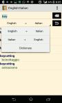 English -  Italian Dictionary screenshot 2/3