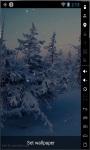Snowy Trees Real Live Wallpaper screenshot 1/2