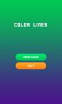 Balls in lines screenshot 1/4