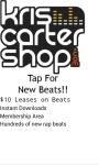 KrisCarterShop Rap Beats screenshot 2/2