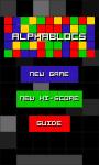 AlphaBlocs screenshot 1/6