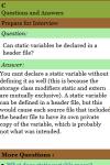 C Interview QA screenshot 3/3