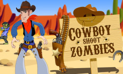 Cowboy Shoot Zombies  screenshot 1/4