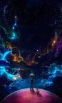 Colorful Galaxy Live Wallpaper screenshot 1/3