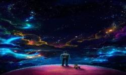 Colorful Galaxy Live Wallpaper screenshot 2/3