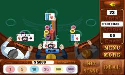 Blackjack Games  Free screenshot 1/4