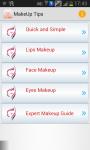 MakeUp Homemade Tips screenshot 1/3