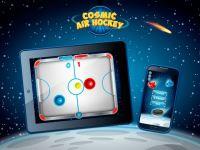 Cosmic Air Hockey  screenshot 1/3