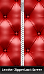 Leather Zipper Lock Screen Free screenshot 1/6
