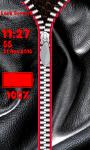 Leather Zipper Lock Screen Free screenshot 5/6
