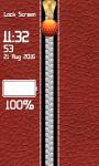 Leather Zipper Lock Screen Free screenshot 6/6
