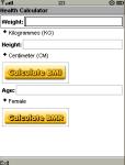 Health Calculator screenshot 1/1