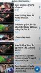 Bass Guitar Lessons Free screenshot 4/6