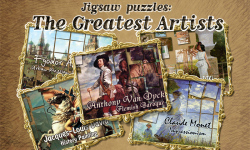 Jigsaw Puzzles: The Greatest Artists screenshot 1/4