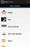 Free Brasil Tv Live screenshot 2/4