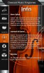 Classical Music Ringtones Top screenshot 5/6