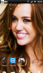 Miley Cyrus Live Wallpaper 2 screenshot 1/3