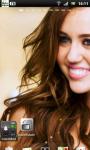 Miley Cyrus Live Wallpaper 2 screenshot 2/3