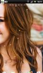 Miley Cyrus Live Wallpaper 2 screenshot 3/3