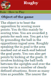 Rules to play Rugby screenshot 4/4