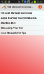 Flat Stomach Exercise Workouts screenshot 1/3