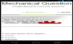 Mechanical Questions screenshot 1/4