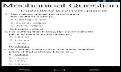 Mechanical Questions screenshot 2/4