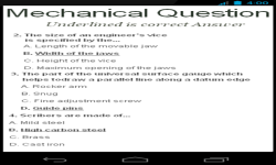 Mechanical Questions screenshot 3/4
