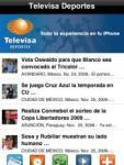 Televisa Deportes screenshot 1/1