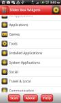 Slider Box - Apps Organizer screenshot 3/6