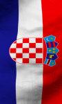 Croatia flag lwp Free screenshot 5/5