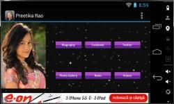 Preetika Rao 2014 Fan App screenshot 2/3