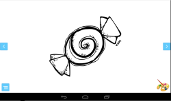 Coloring for Kids: Candy screenshot 2/3