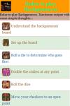Rules to play Backgammon screenshot 2/3