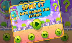Spot It Cute Animal Fun 1 screenshot 1/5