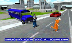 Police Bus Prisoner Driver screenshot 1/3