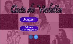 Violetta Quizz screenshot 1/3