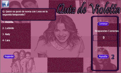 Violetta Quizz screenshot 3/3