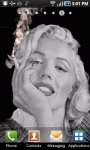 Marilyn Monroe Smoking Live Wallpaper screenshot 1/3