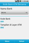 Kode ATM Bersama Indonesia screenshot 1/6