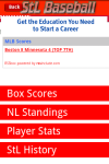 StL Baseball Fan App screenshot 3/5