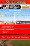 StL Baseball Fan App screenshot 5/5